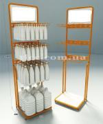advertising racks, branded racks, branded racks