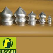 Алюмінієві наконечники для металічних заборів
