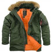 American jacket Alaska N-3B Slim Fit-Alpha Industries