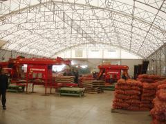 Ангари для зберігання картоплі під ключ в Україні, овочесховища