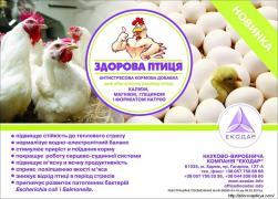 Антистресова кормова добавка ЗДОРОВА ПТИЦЯ