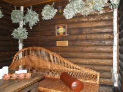 Баня на дровах з соляною кімнатою