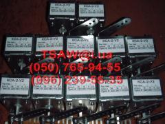 Блок-контакти кса-2, кса -4, кса -6, кса -8, кса -10, кса -12
