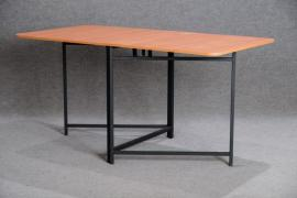 Book-table with metal base 1500х800х750