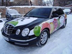 Брендування авто ,брендування транспорту, обклеювання авто пленк