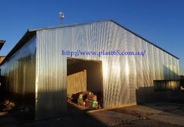 Будівництво ангарів, складів, швидкомонтованих будівель, цехів
