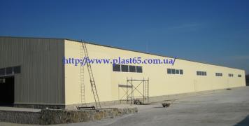 Будівництво складів, виробничих приміщень під ключ