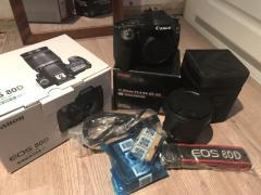 Canon EOS 80D 24.2 MP Цифрова дзеркальна камера - чорний (Ш/ ЕФ 10-18мм Ф