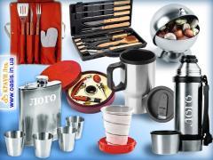 Чашки з нанесенням логотипу, посуд і сервізи оптом