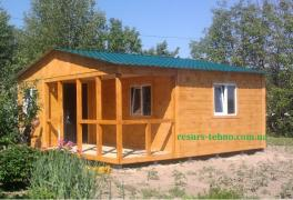 Country houses made of wood to order