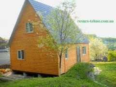 Дачные домики.Бытовки из дерева