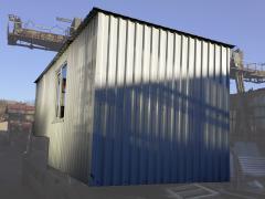 Дачний будиночок, сарай з профнастилу 5,0х3,0х2,3м