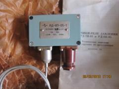 Датчик-реле тиску РД1К1;РД2К1;РД21К1;РД2-ОМ5; РД5П; РД8П