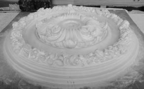 Декоративна розетка 1630 Р. діаметр 800