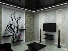 Декорування, розпис по стіні