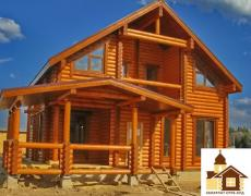 Дерев'яні будинки з натурального зрубу