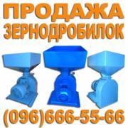 ДКУ зернодробарки з електродвигуном 3 кВт/3000 об., 380 В
