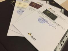 Довідка з місця роботи для візи Харків , Довідка з банку Харьк