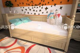 Дитяче ліжко Бембі з натурального дерева