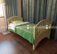 Дитяче ліжко Маркіза з натурального дерева