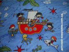 Дитячий килим для ігрової кімнати