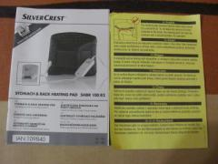 Електрогрілка для спини SILVER CREST