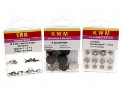 Fitting kit KWM No. 3 for clothes KWM