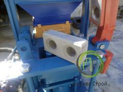 Гідропрес для виробництва цегли Lego