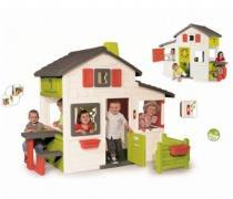 Ігровий будиночок для друзів з горищем і дзвінком Smoby 310209