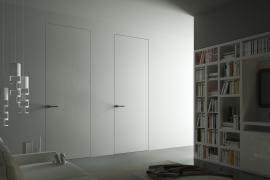 Італійські двері прихованого монтажу під фарбування