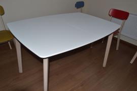 Італійські меблі (Стіл та 6 стільців) «Calligaris Cream»