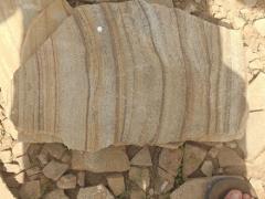 камінь піщаник тигровий з розлученням