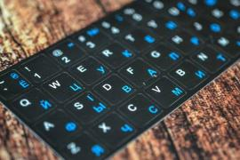 Keyboard stickers with different languages free shipping