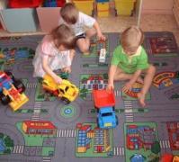 Ковролін в дитячу кімнату. Дитячий килим