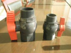 Кран пластиковий ПВХ