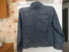 курточка джинсова