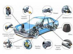 Large selection of auto parts for cars and agricultural machinery