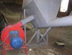 Line drying and fractionation sand, dry sand equipment