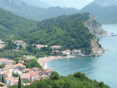 Літо в Чорногорії 2017. Петровац. Апартаменти біля моря