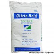 Лимонна кислота Citric Acid 25 кг