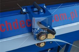 Листогиб 2 мм. Ручний верстат для згинання металу Decker 2250