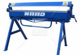 Листогиб Maad ZG 1400/0,8, а також іншій покрівельний інструмент