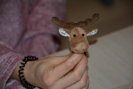 Майстер-клас з пошиву плюшевого лосика-малюка