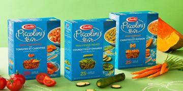 Макарони Barilla Piccolini дитячі з овочами 400 г