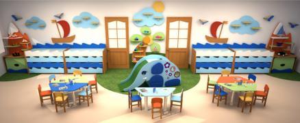 Меблі для дитячого садка на замовлення у Харкові та області