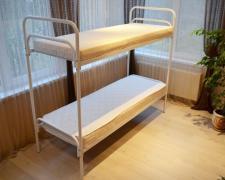 Металева ліжко. Односпальне ліжко.Двоярусні ліжка