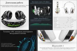 Навушники Безпровідні Bluetooth 4./iOS,Android,Windows