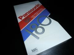 Нові відеокасети VHS Panasonic NV-E180SP