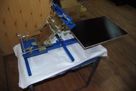 Обладнання для Шовкографії(Печатки)