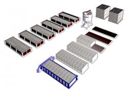 Обладнання для виробництва газобетонних блоків